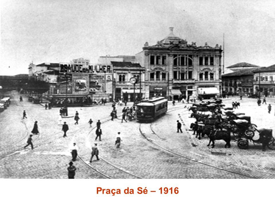 Praça da Sé – 1916