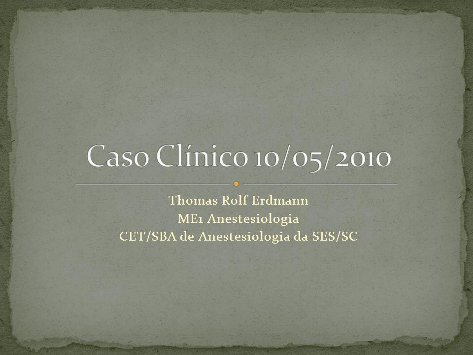 CET/SBA de Anestesiologia da SES/SC