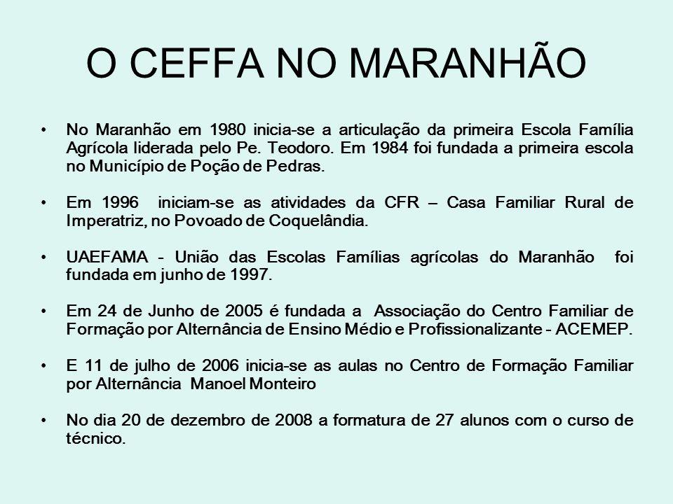 O CEFFA NO MARANHÃO