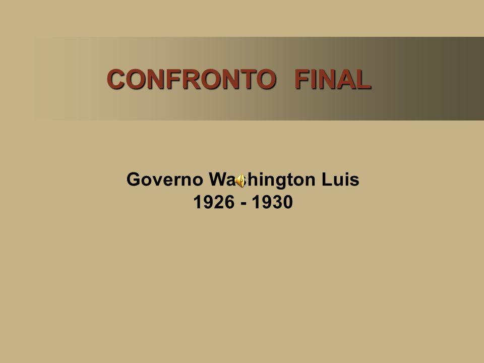 Governo Washington Luis