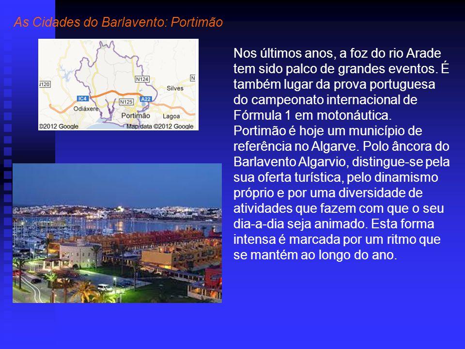 As Cidades do Barlavento: Portimão