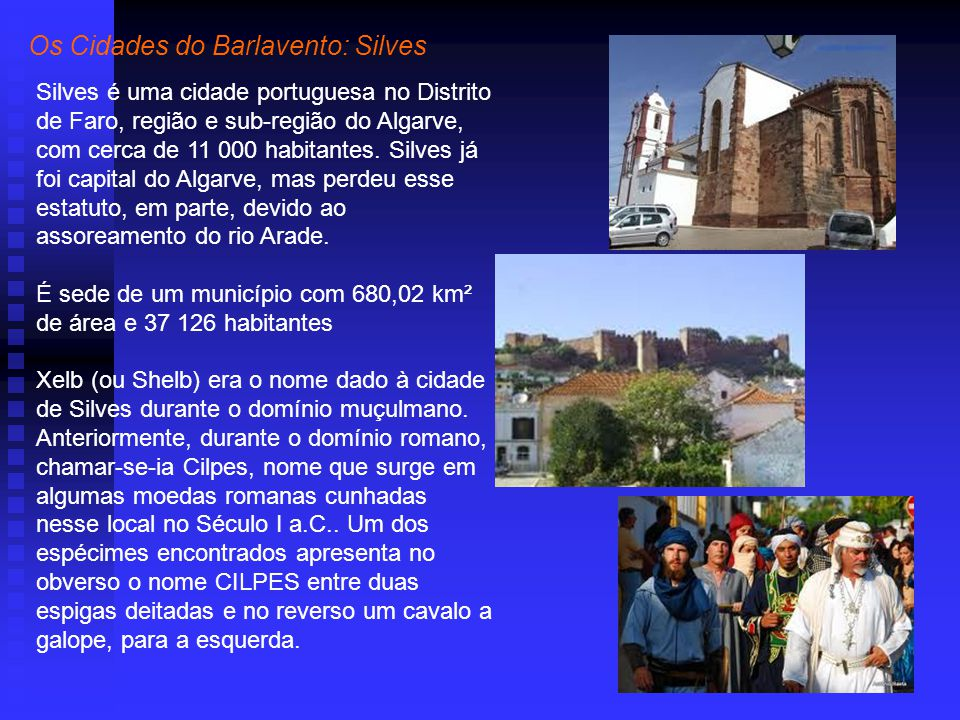 Os Cidades do Barlavento: Silves