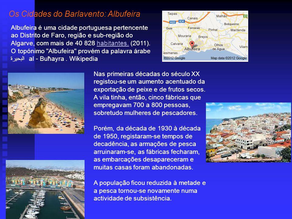 Os Cidades do Barlavento: Albufeira