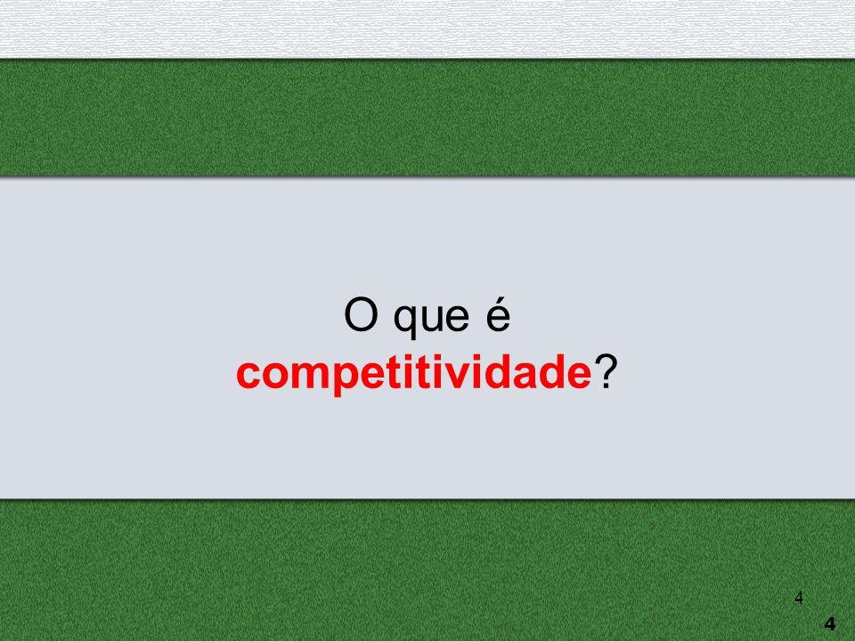 O que é competitividade