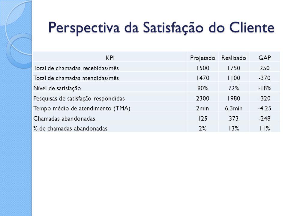 Perspectiva da Satisfação do Cliente
