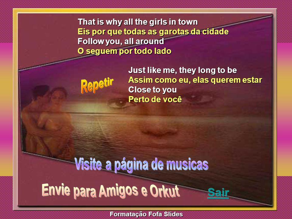 Visite a página de musicas Envie para Amigos e Orkut