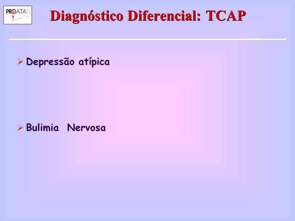 Diagnóstico Diferencial: TCAP