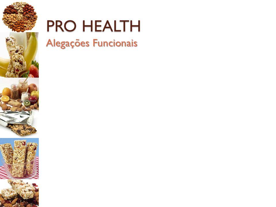 PRO HEALTH Alegações Funcionais