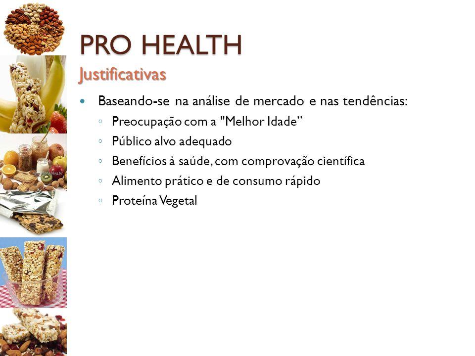 PRO HEALTH Justificativas