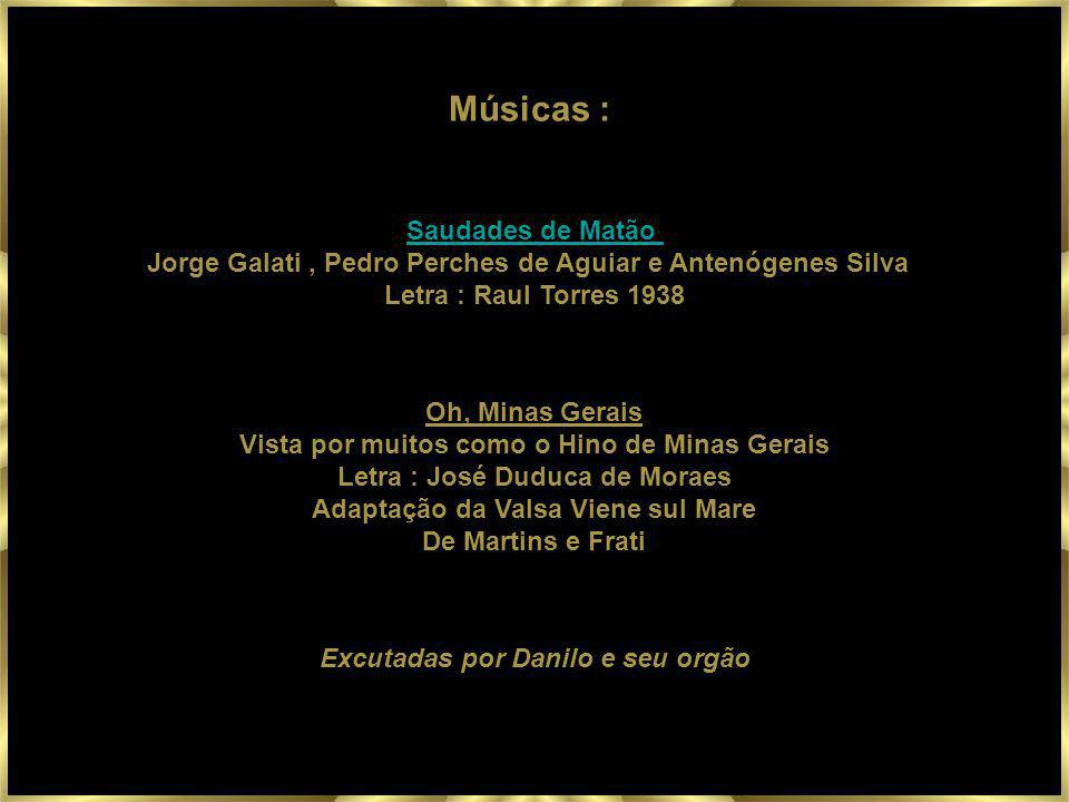 Músicas : Saudades de Matão