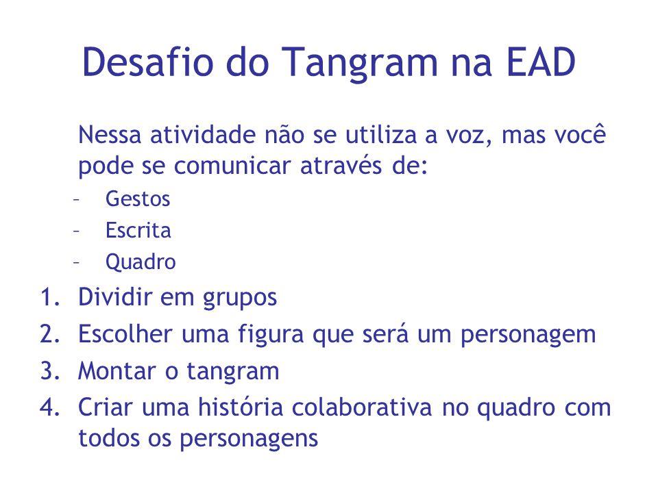Desafio do Tangram na EAD