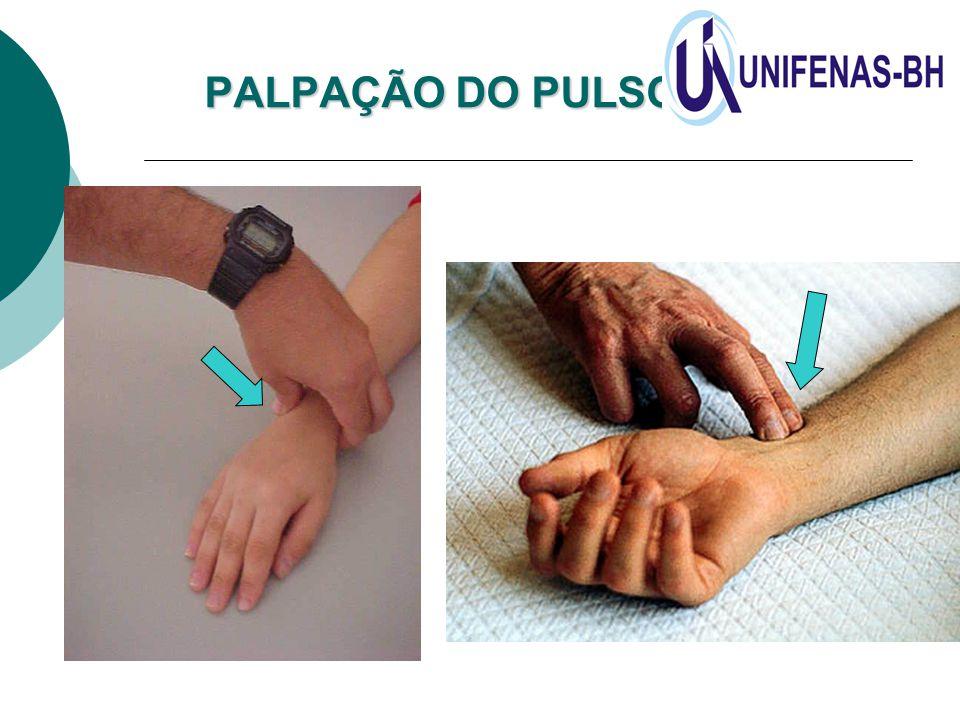 PALPAÇÃO DO PULSO RADIAL