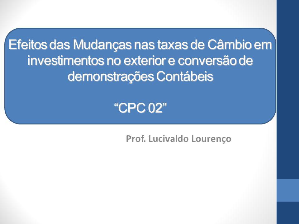 Prof. Lucivaldo Lourenço