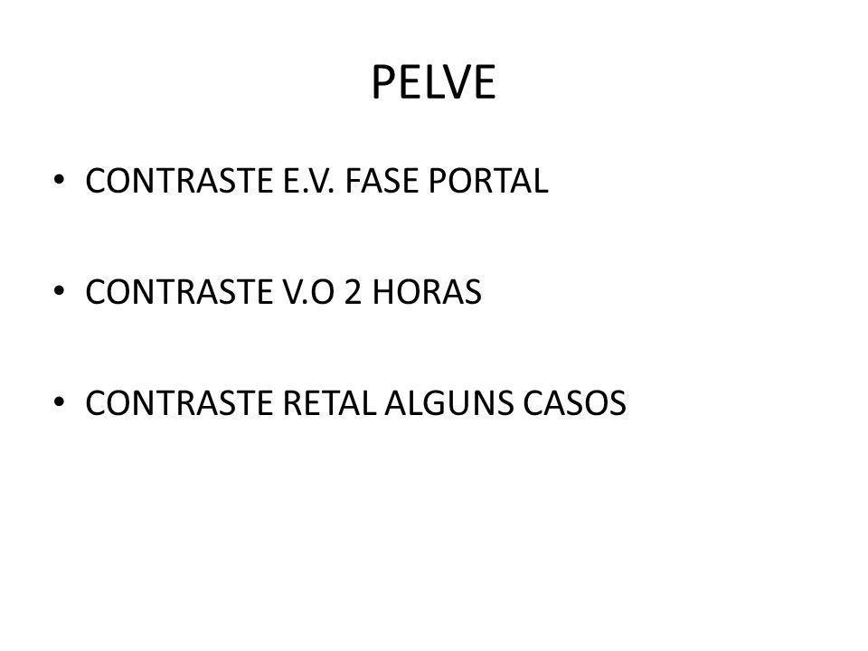 PELVE CONTRASTE E.V. FASE PORTAL CONTRASTE V.O 2 HORAS