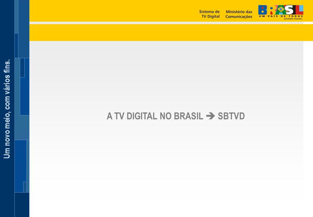 A TV DIGITAL NO BRASIL  SBTVD
