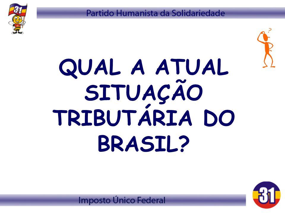 QUAL A ATUAL SITUAÇÃO TRIBUTÁRIA DO BRASIL