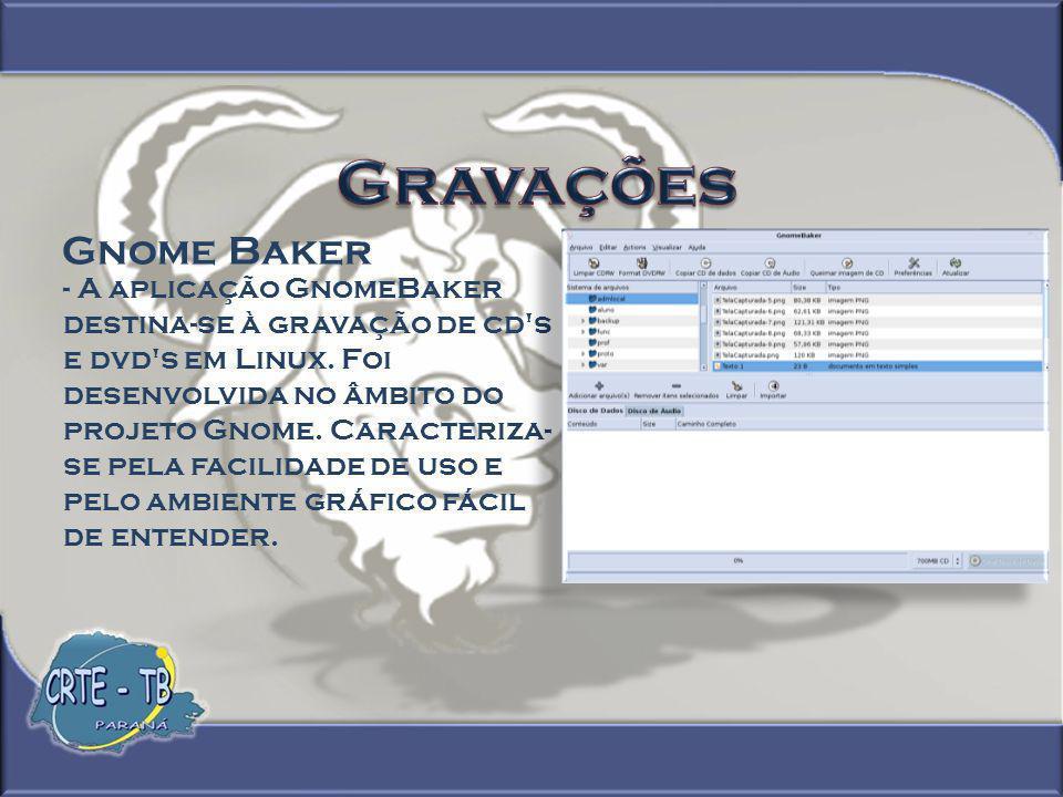Gravações Gnome Baker.