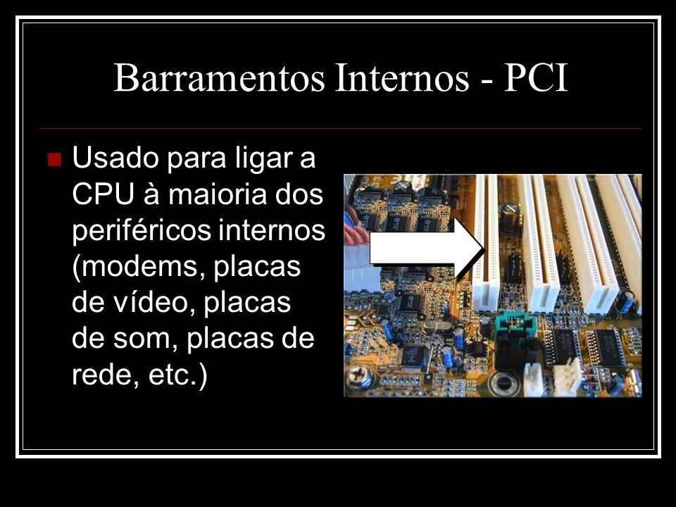 Barramentos Internos - PCI