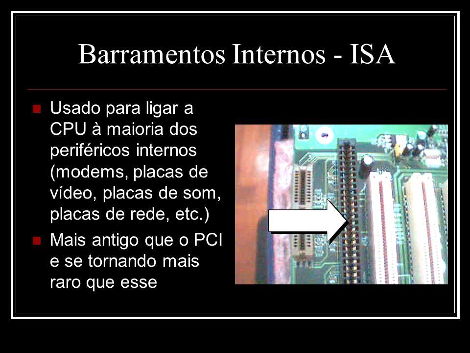 Barramentos Internos - ISA