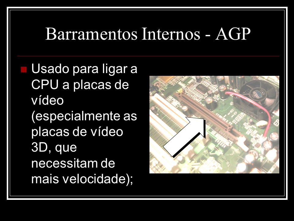 Barramentos Internos - AGP