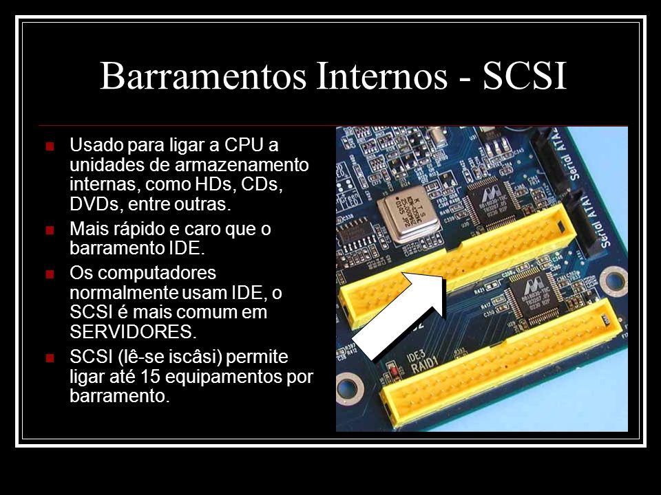 Barramentos Internos - SCSI