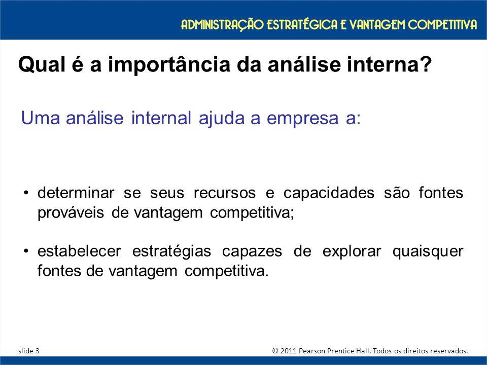 Qual é a importância da análise interna
