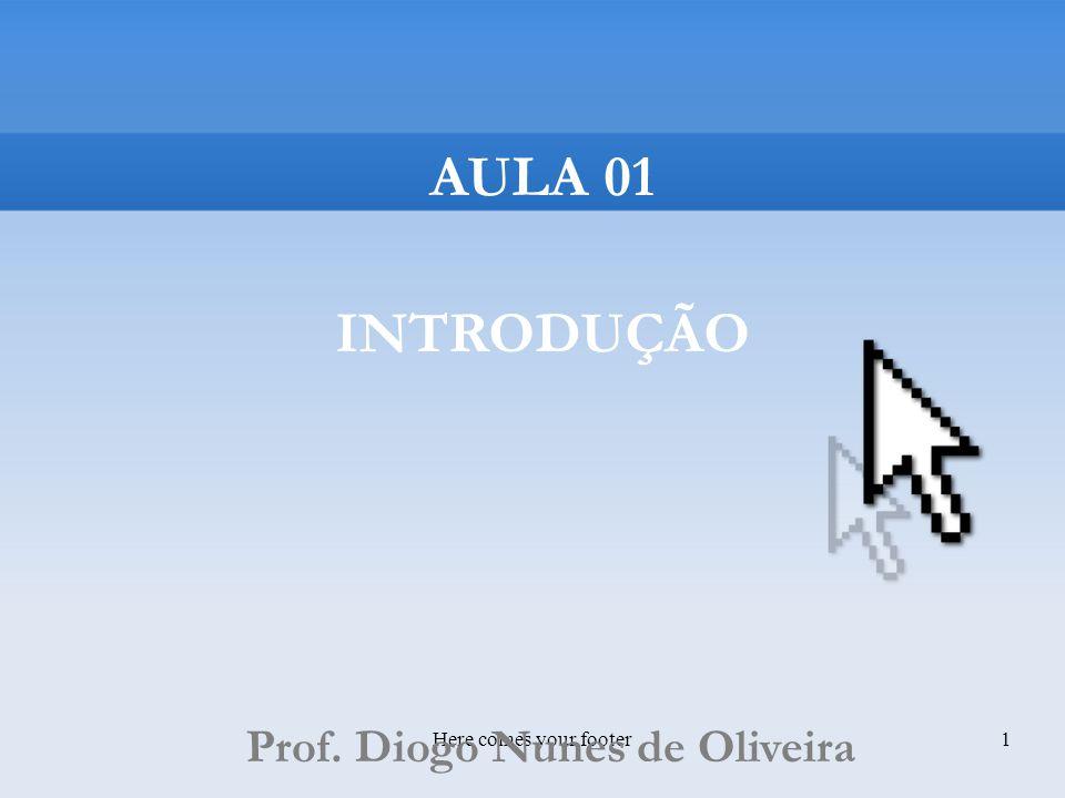 Prof. Diogo Nunes de Oliveira