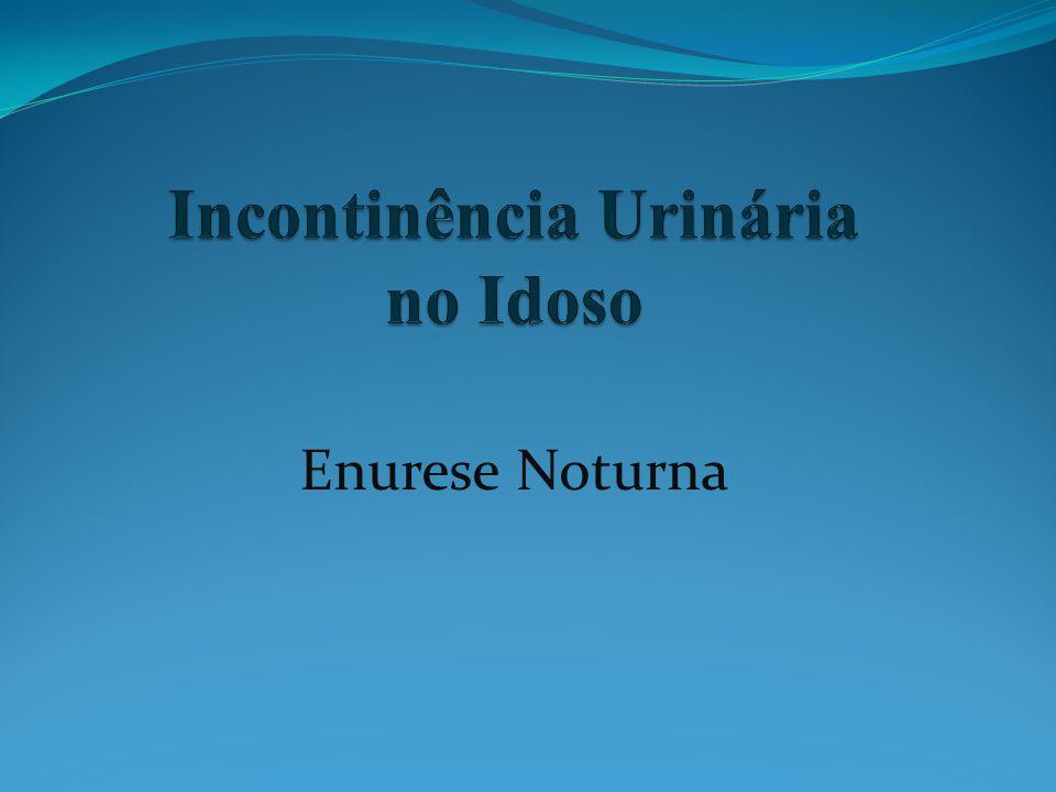 Incontinência Urinária no Idoso