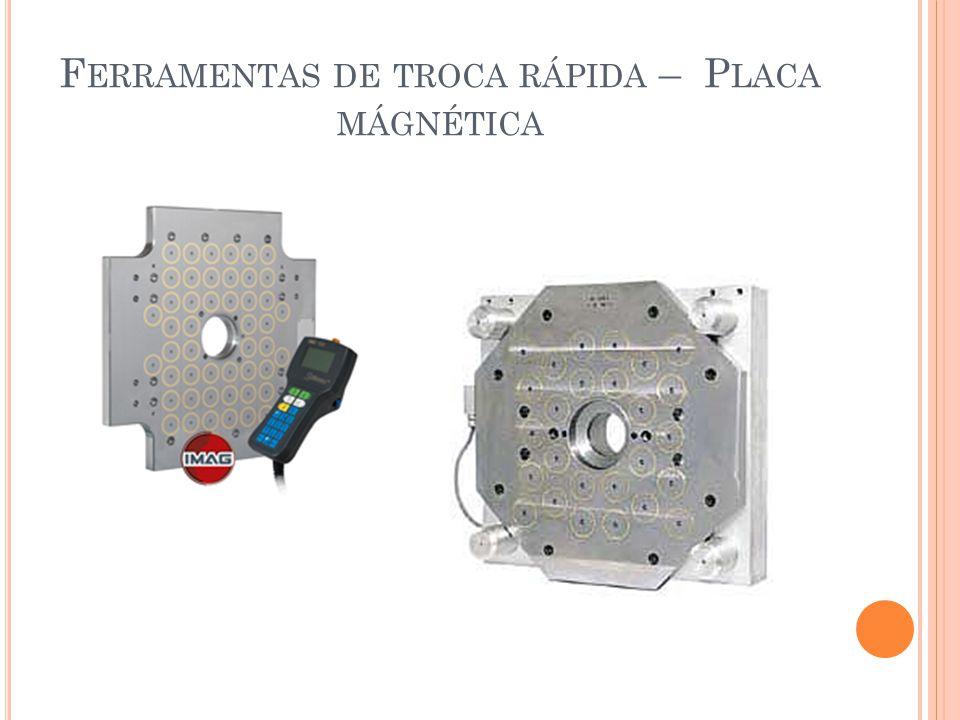 Ferramentas de troca rápida – Placa mágnética