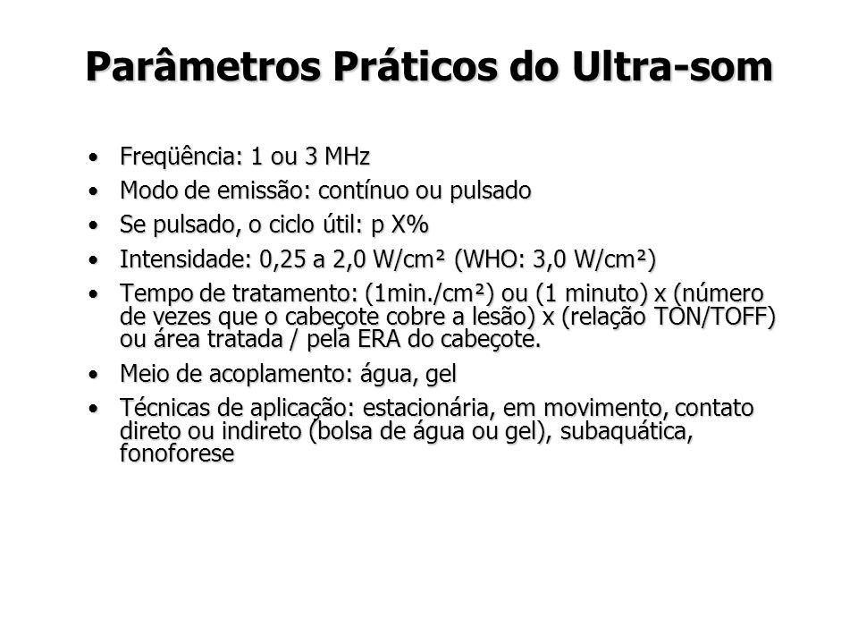 Parâmetros Práticos do Ultra-som
