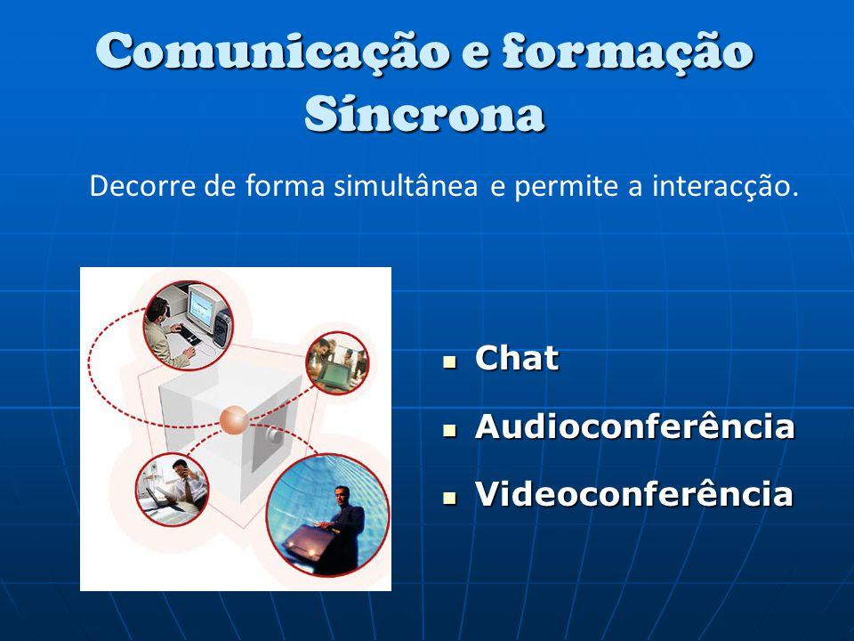 Comunicação e formação Síncrona