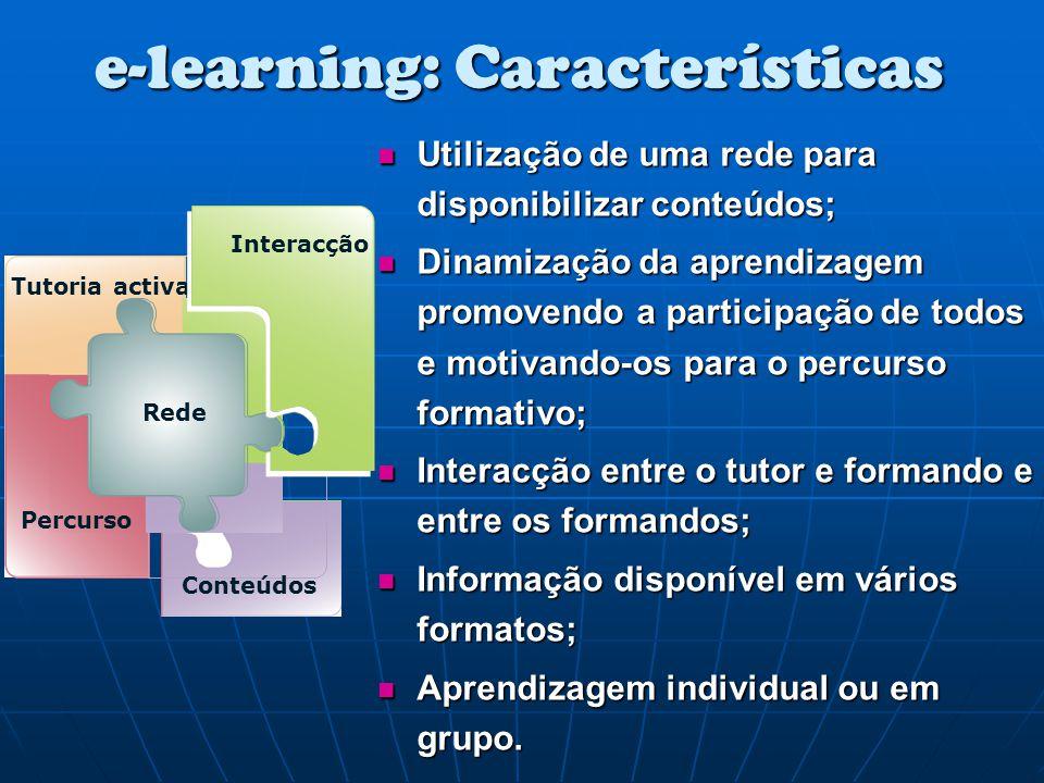 e-learning: Características