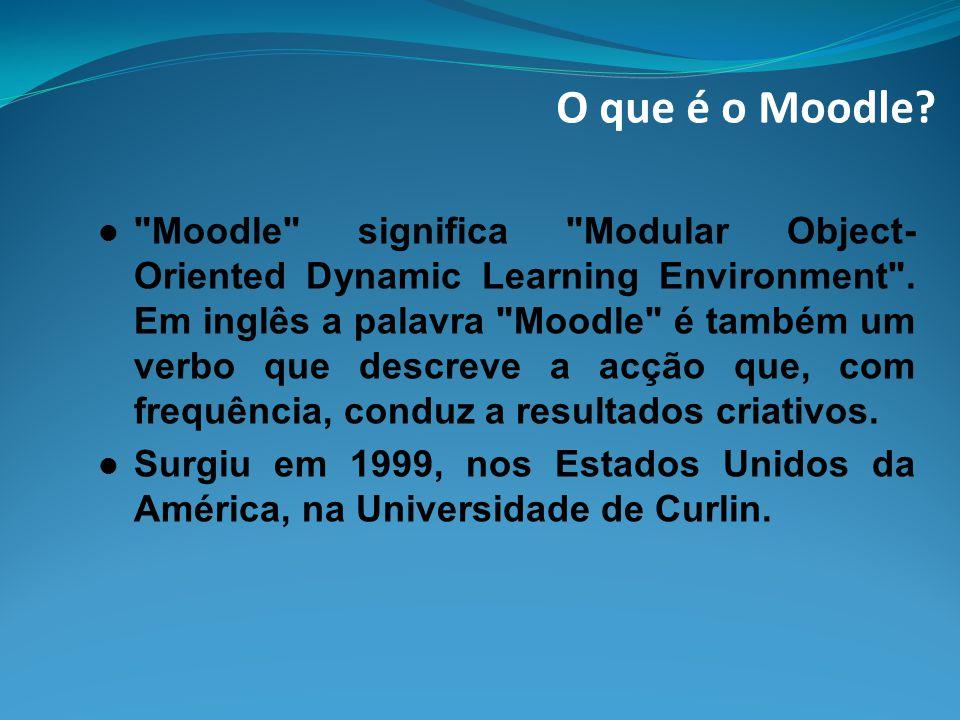 O que é o Moodle