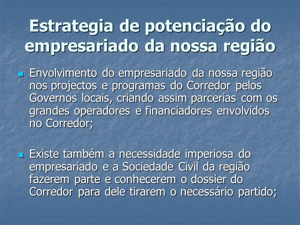 Estrategia de potenciação do empresariado da nossa região