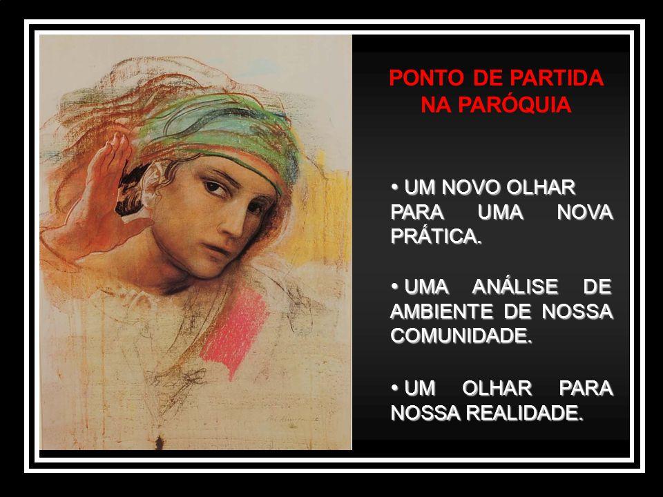 PONTO DE PARTIDA NA PARÓQUIA