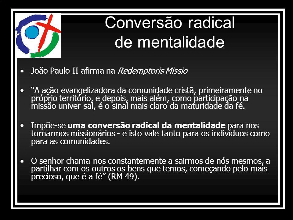 Conversão radical de mentalidade