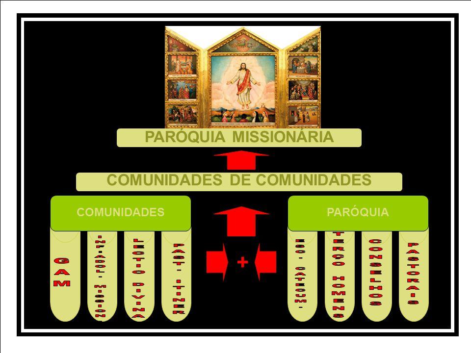 COMUNIDADES DE COMUNIDADES