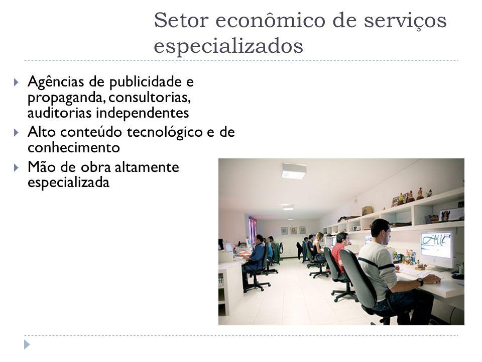 Setor econômico de serviços especializados