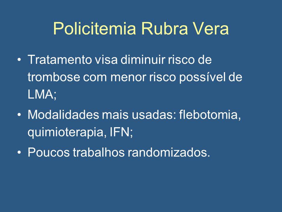 Policitemia Rubra Vera