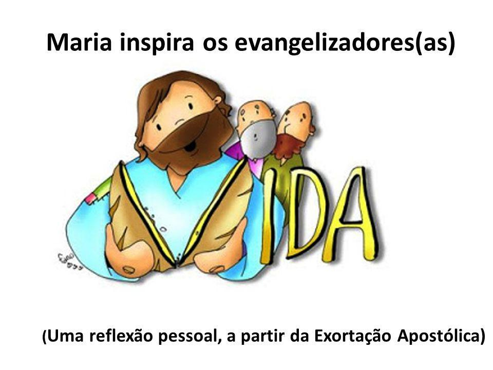 Maria inspira os evangelizadores(as)