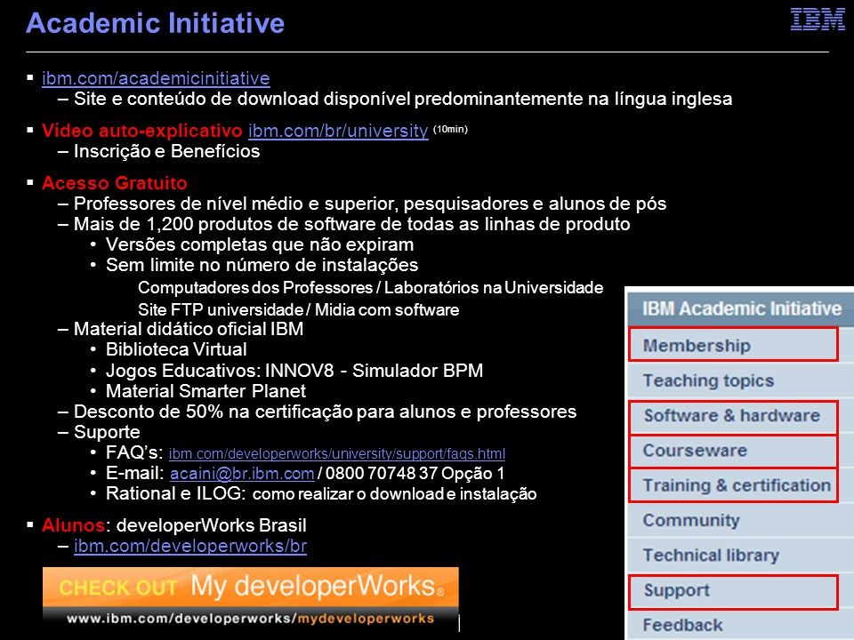 Academic Initiative ibm.com/academicinitiative