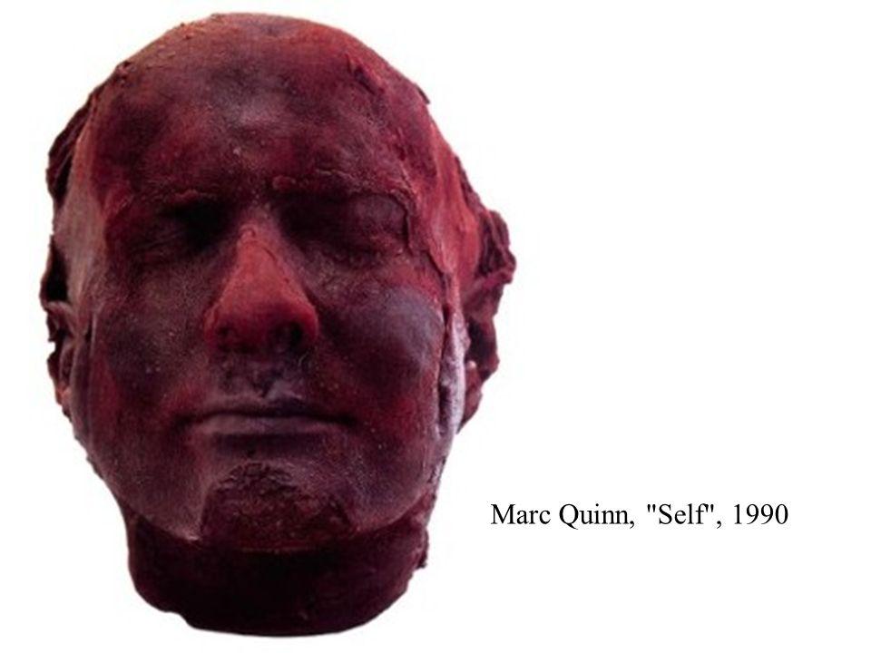 Marc Quinn, Self , 1990
