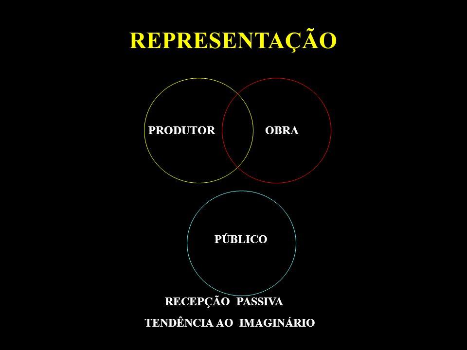 REPRESENTAÇÃO PRODUTOR OBRA PÚBLICO RECEPÇÃO PASSIVA