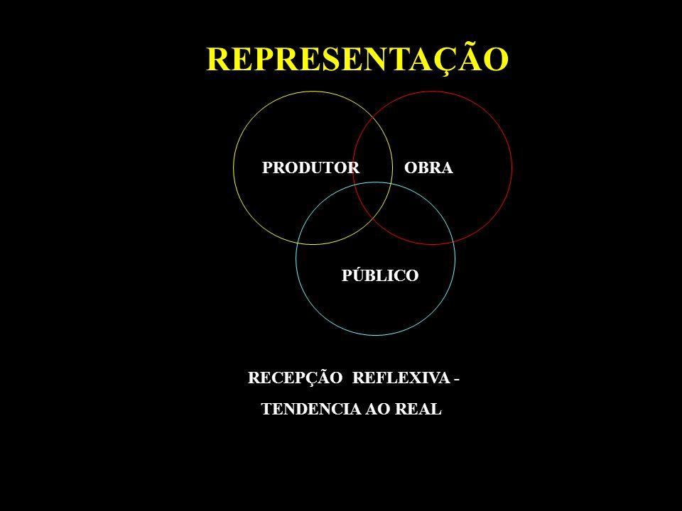 REPRESENTAÇÃO PRODUTOR OBRA PÚBLICO RECEPÇÃO REFLEXIVA -