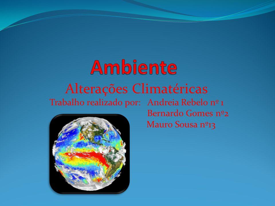 Ambiente Alterações Climatéricas