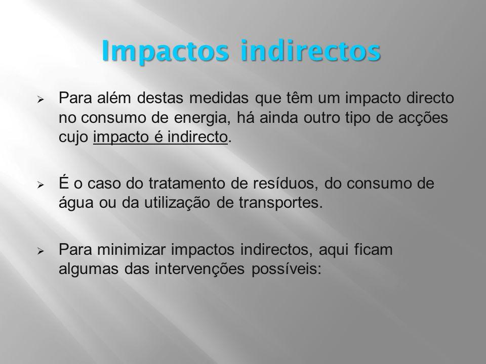 Impactos indirectos