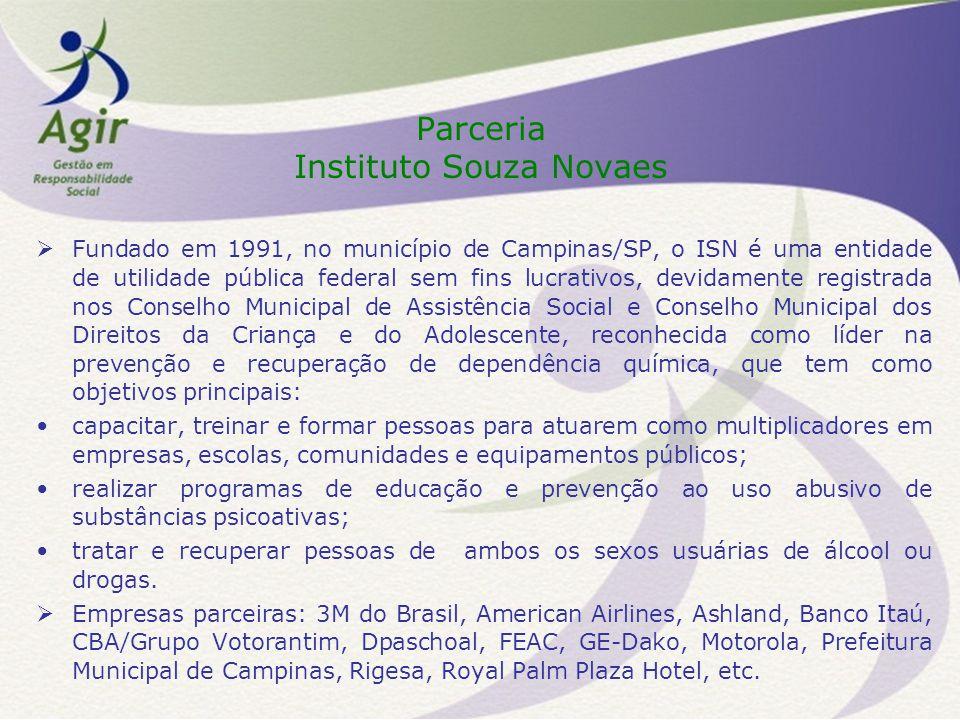 Parceria Instituto Souza Novaes