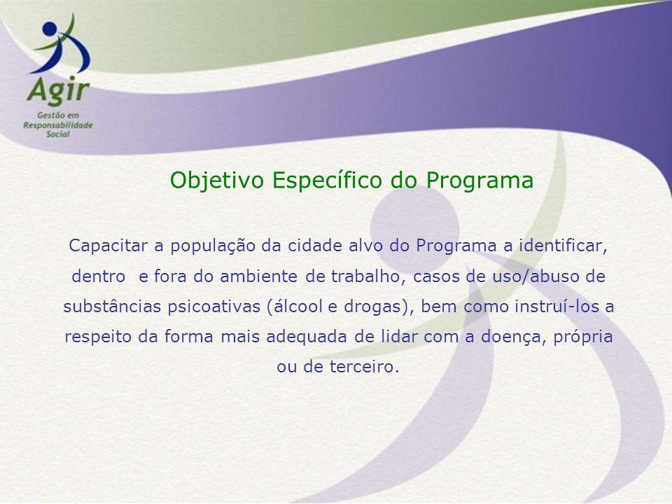 Objetivo Específico do Programa