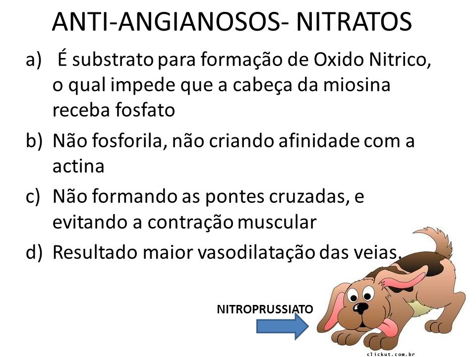ANTI-ANGIANOSOS- NITRATOS
