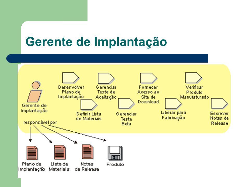 Gerente de Implantação